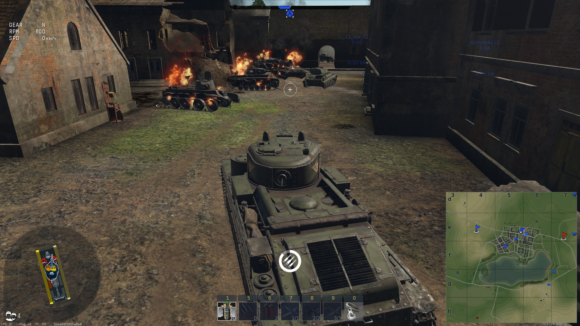 Оптимизация world of tanks radeon