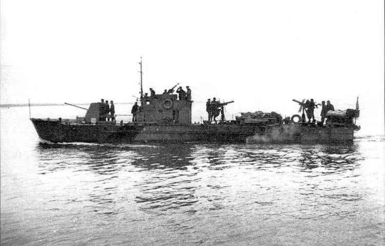 Soviet Mo Military Motor Boats In Combat