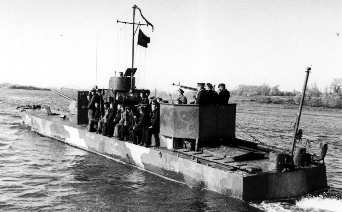 WW2 armored boats of USSR