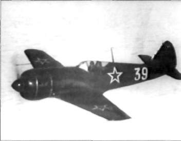 USSR La-11 Soviet  fighter