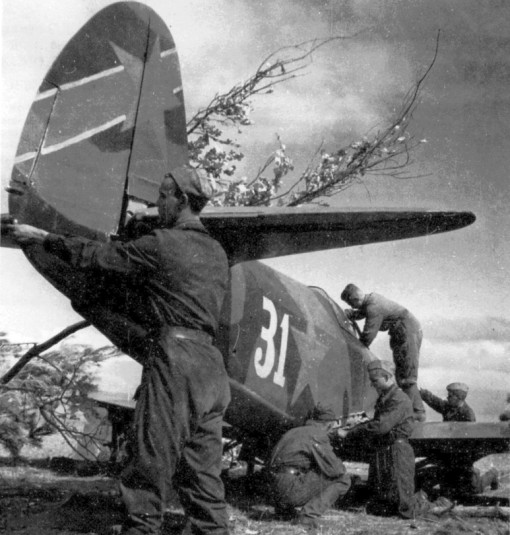 Yak-1 fighter near Stalingrad