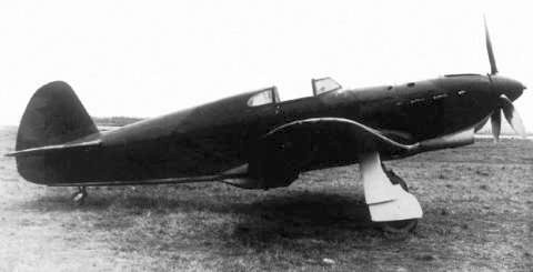 Soviet Yak-1 fighter