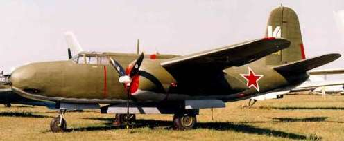 A-20-G lendleased bomber Color photos.