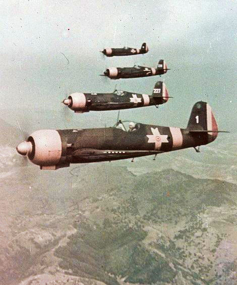 foto photo ww2 WWII Industria Aeronautica Romana Avion de vanatoare, avion de bombardament in picaj IAR-80